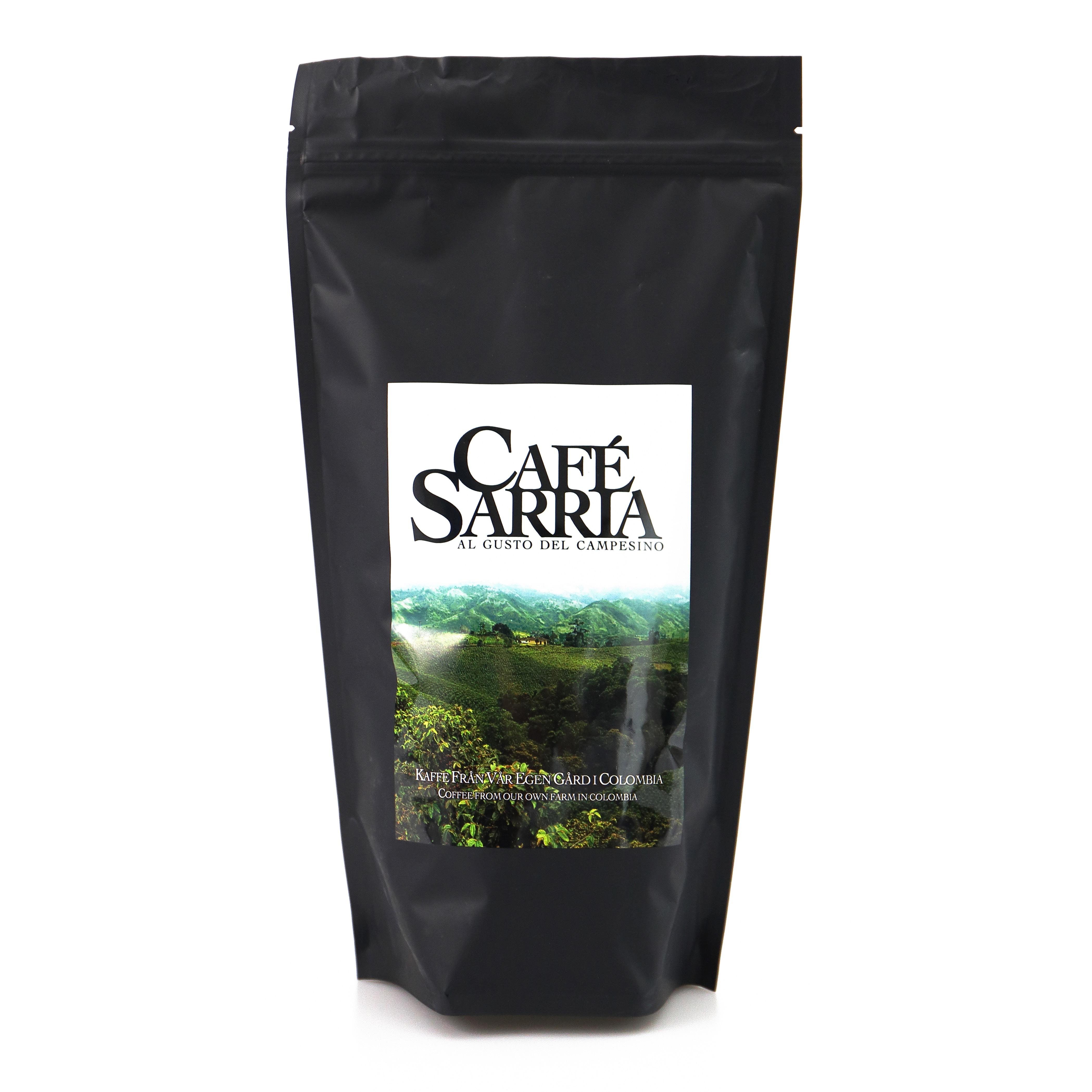 Akcija šokoladas ir Cafe Sarria
