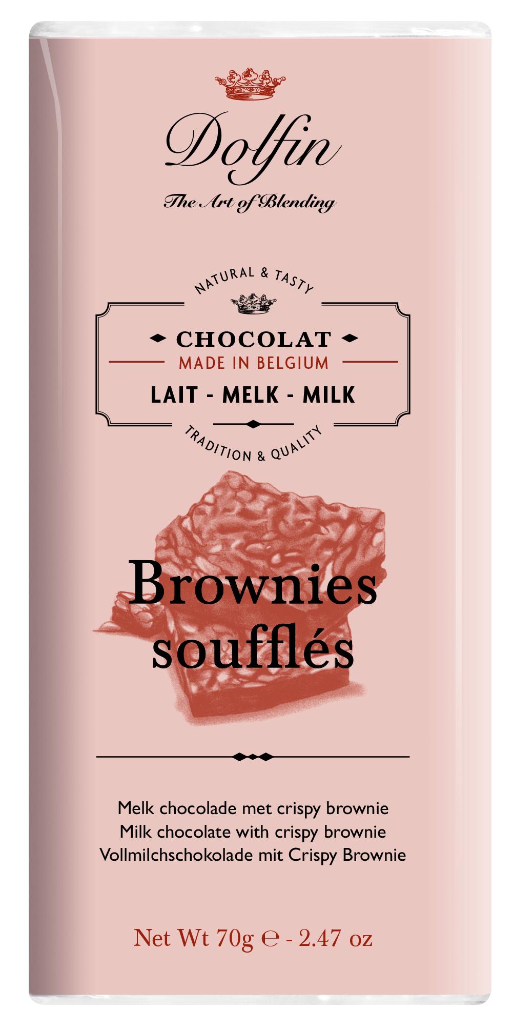 70 g pieniškas su brownie susainiais